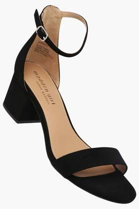 STEVE MADDEN Womens Party Wear Buckle Closure Heel Sandals
