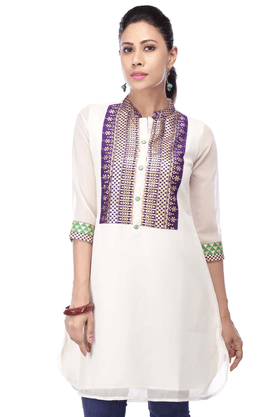 KASHISH Women Georgette Kurta