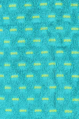 Printed Textured Weft Insert Bath Towel