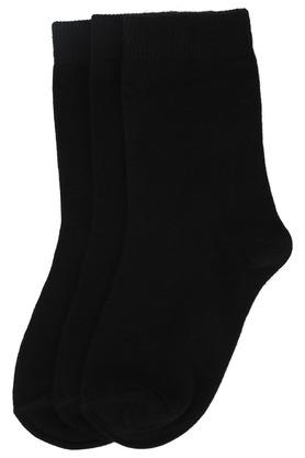 Unisex Solid Knitted Socks Pack of 3
