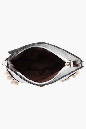 Womens Zipper Closure Slingbag