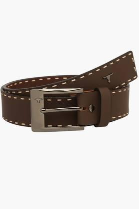 BULCHEE Mens Casual Leather Belt