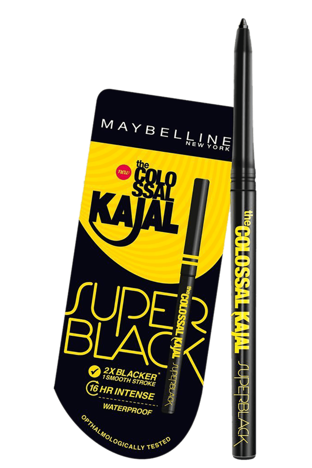 Buy MAYBELLINE Colossal Kajal Super Black  248303ee186f