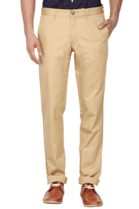 LOUIS PHILIPPE SPORTS Mens Regular Fit Chinos