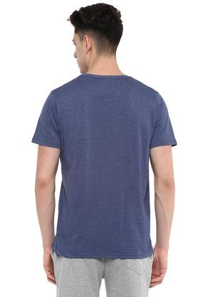 STOP - Blue MelangeT-Shirts & Polos - 17