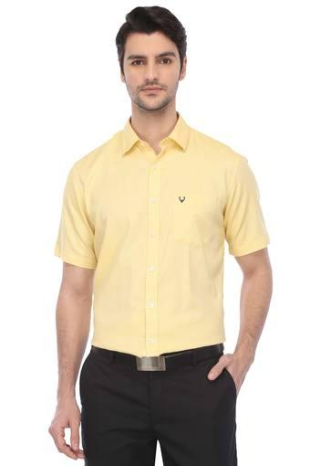 ALLEN SOLLY -  Yellow Shirts - Main