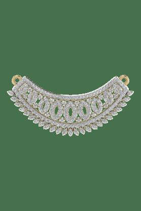TARA JEWELLERSWomens 18 Karat Gold And Diamond Mangalsutra Pendant - 200944724_9999