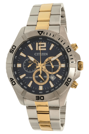 Mens Chronograph Watch-AN8124-56L