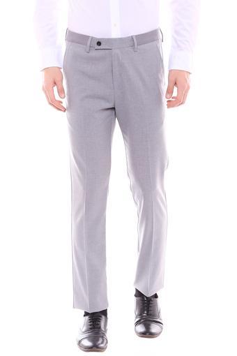 ARROW -  Grey MelangeCargos & Trousers - Main