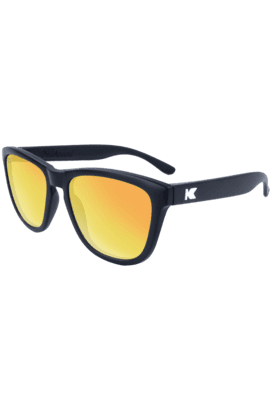 KNOCKAROUND Premium Unisex Sunglassess Black/POLARIZED Sunset-PMSS3001 (Use Code FB20 To Get 20% Off On Purchase Of Rs.1800)