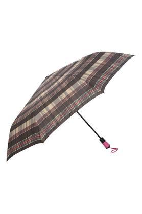 Unisex Check 3 Fold Umbrella