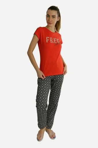 SWEET DREAMS -  Red Loungewear - Main