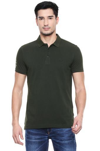 SPYKAR -  OliveT-shirts - Main