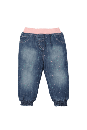 MOTHERCARE Girls Cotton Jeans