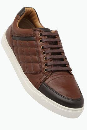 RUOSH Mens Leather Lace Up Casual Shoes - 202166689