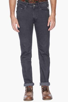 Exclusive Lines From Brands Jeans (Men's) - Mens 5 Pocket Mild Wash Jeans