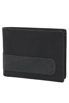 FASTRACK Mens Blue Leather Wallet