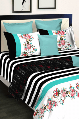 Midnight Rouge - Double Bedsheet Set (2100401)