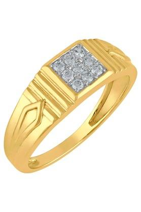 TARA JEWELLERSMen Gold & Diamond 18 Karat Ring - 201600963