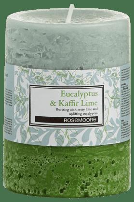 ROSEMOOREPillar Candle Eucalyptus & Kaffir Lime