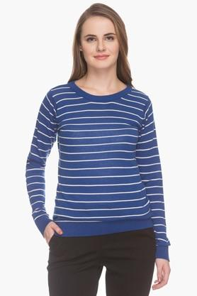 MSTAKENWomens Striped Sweater (Buy For 4500 And Get 1000 Off)