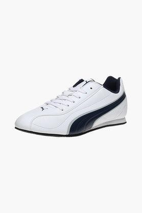 PUMA Mens Leather Lace Up Sports Shoes  ...