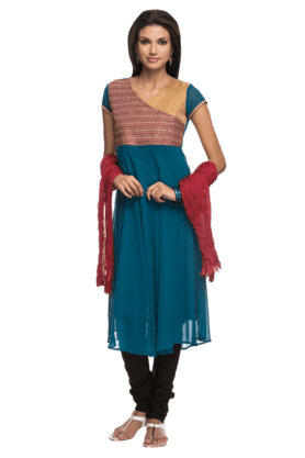 IMARA Women Embellished Long Kurta
