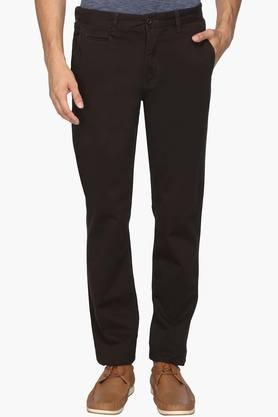 IZOD Mens Slim Fit 5 Pocket Solid Chinos - 202174128