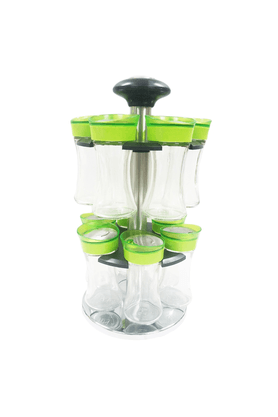 MOM ITALY Spice Rack Set (Set Of 12)