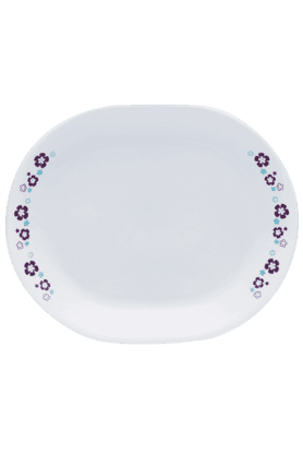 CORELLE Florets - Oval Serving Platter - Big