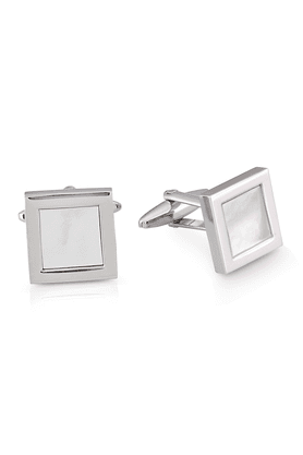SHAZE White Square Cufflinks