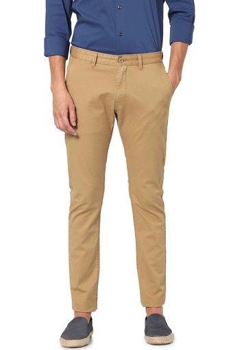 CELIO -  CamelCasual Trousers - Main