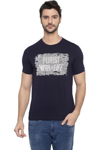 SPYKAR -  NavyT-shirts - Main