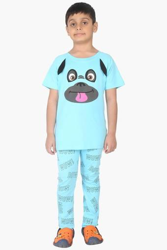Character Printed Boy's PJ Set