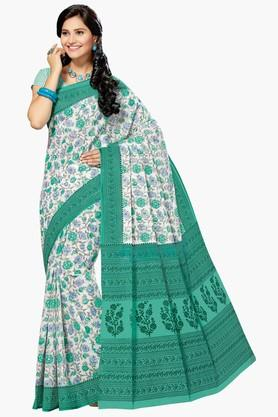 ASHIKA Womens Designer Cotton Printed Saree - 202338347