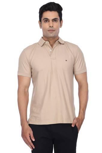 TOMMY HILFIGER -  KhakiT-shirts - Main