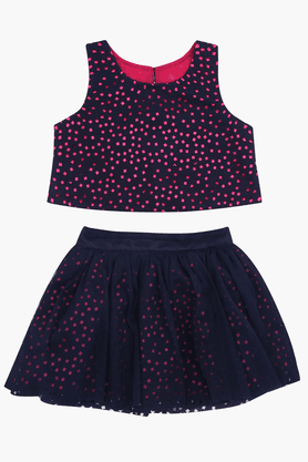 Girls Skirt and Top Set
