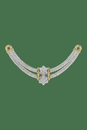 TARA JEWELLERSWomens 18 Karat Gold And Diamond Mangalsutra Pendant - 200944709_9999
