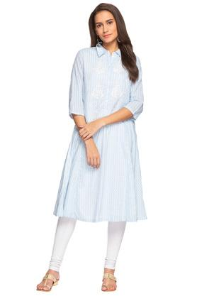 Womens Embroidered Kurta