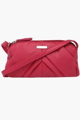 LAVIEWomens Leather Zipper Closure Sling Bag
