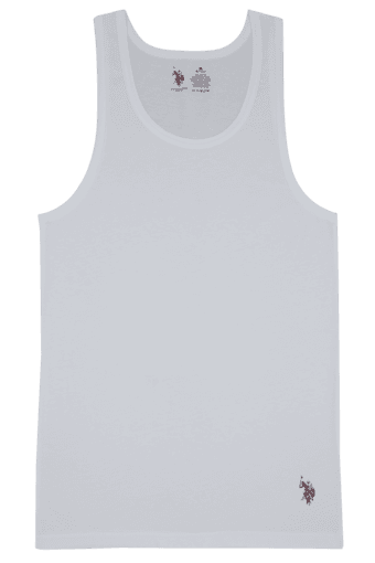 Mens Cotton Solid Vest