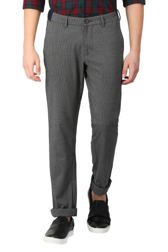 Mens 5 Pocket Stripe Trousers