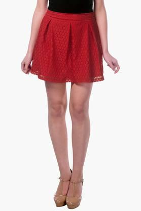 MISS CHASE Womens Lace Short Skirt - 202511987_9607