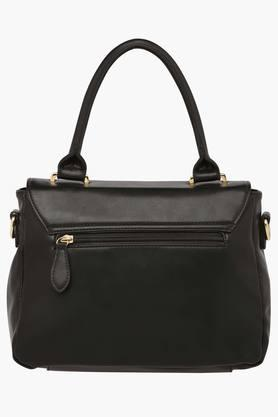 Womens Nuevo Snap & Zipper Closure Satchel