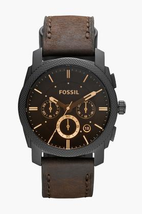Mens Chronograph Leather Watch - FS4656I