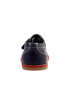 Boys Leather Casual Velcro Closure Sneaker