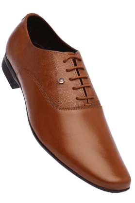 FRANCO LEONEMens Leather Lace Up Formal Shoe