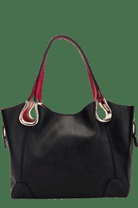 Womens Solid Hobo Handbag