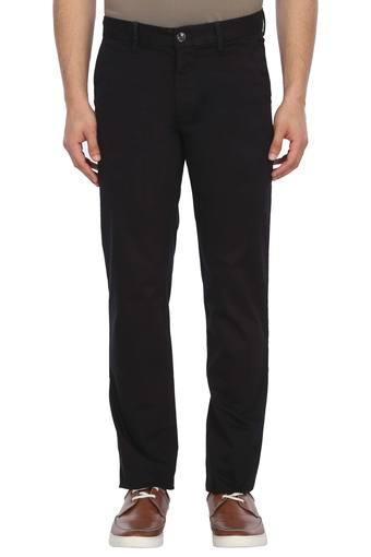 B243 -  BlackCasual Trousers - Main
