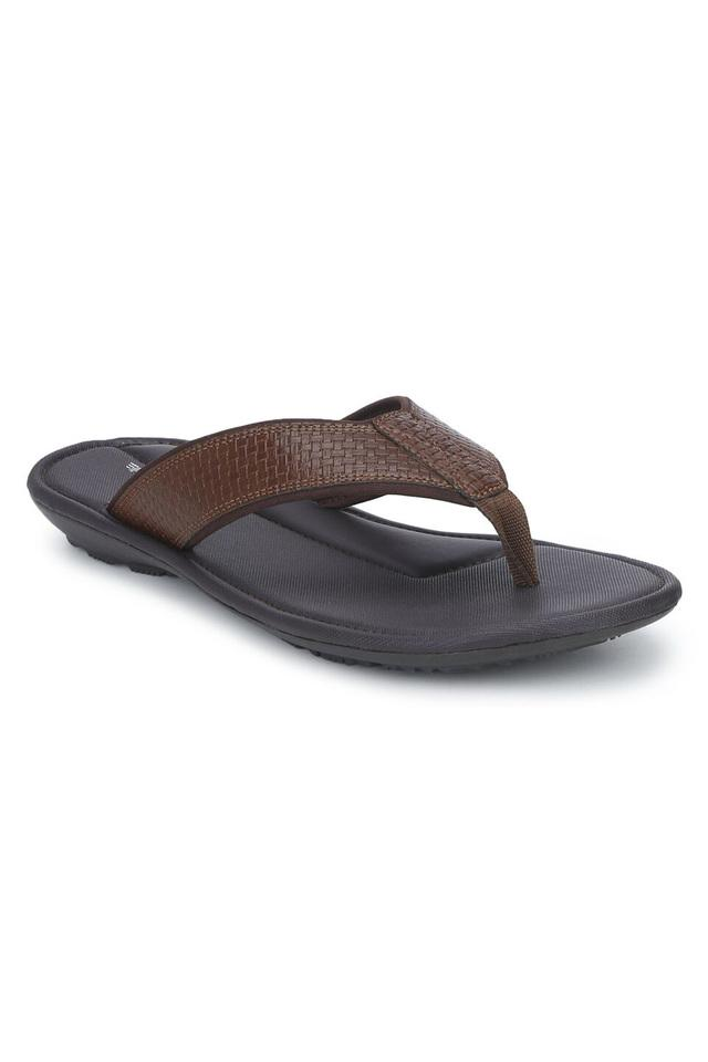 RED TAPE - Tan Flip Flops - Main